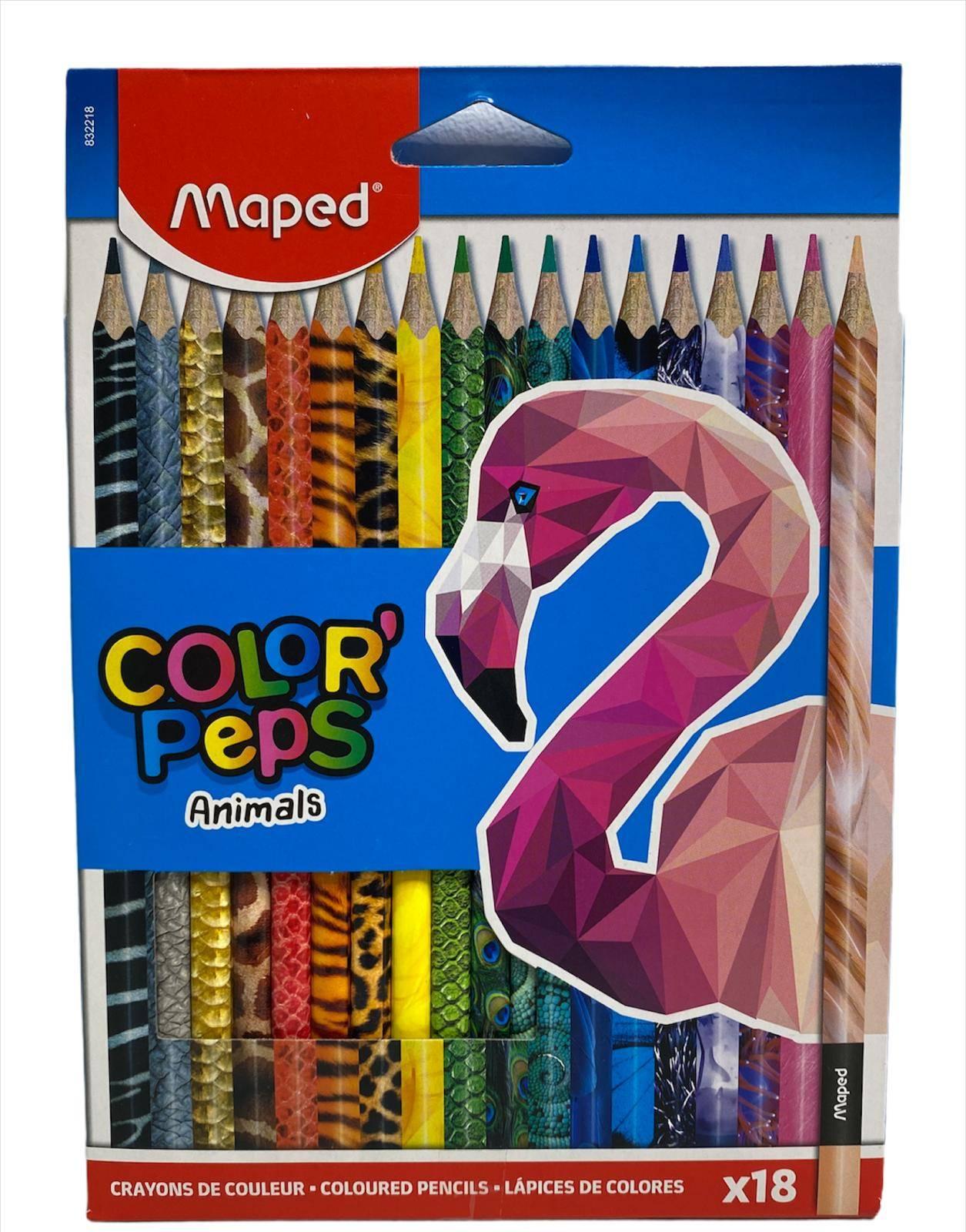 MAPED bojice Color Peps Animals 24 kom