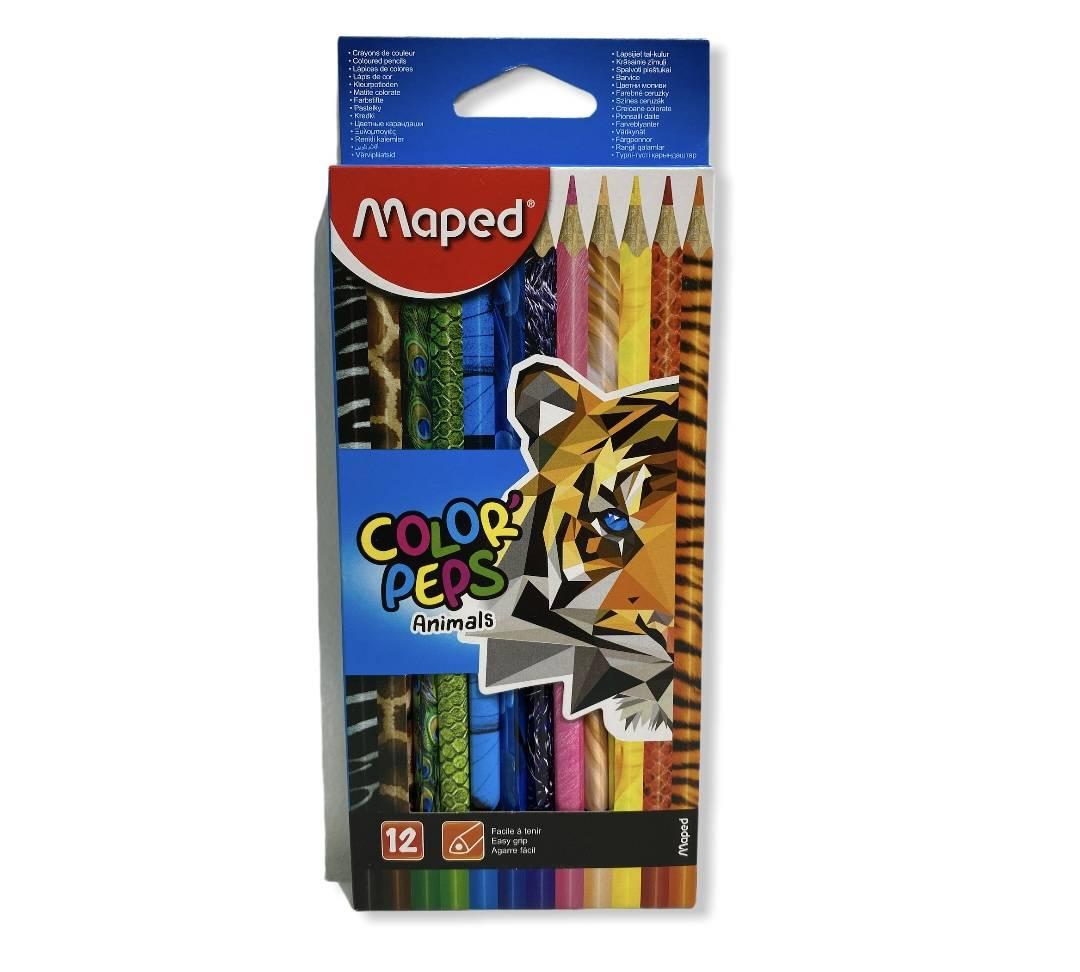 MAPED bojice Color Peps Animals 12 kom