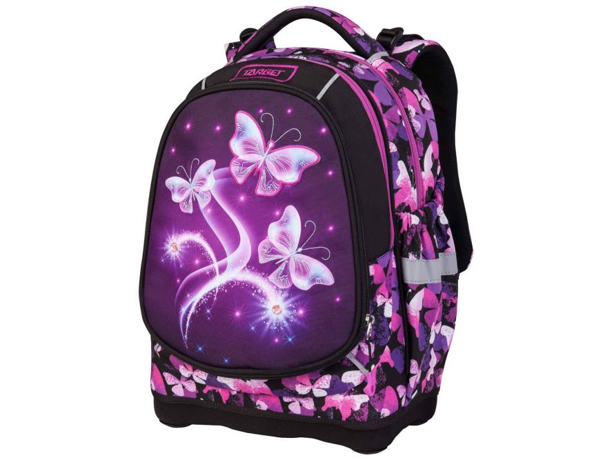 Target anatomski ranac Superlight 2 Face Petit Violet Butterfly – ranac sa 2 lica