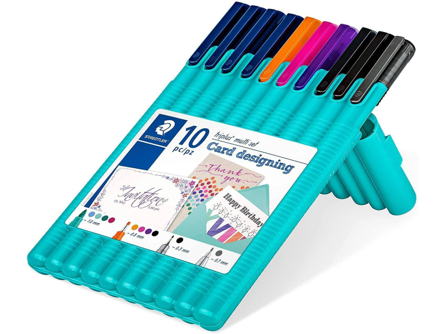 Staedtler Triplus multi set Card designing 10/1