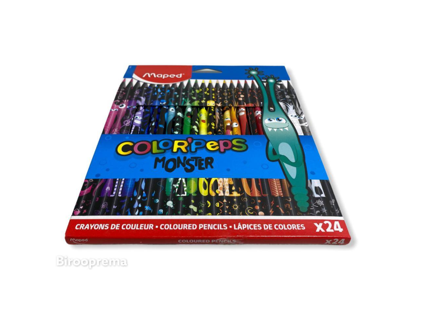 MAPED bojice Color Peps Monster 24 kom