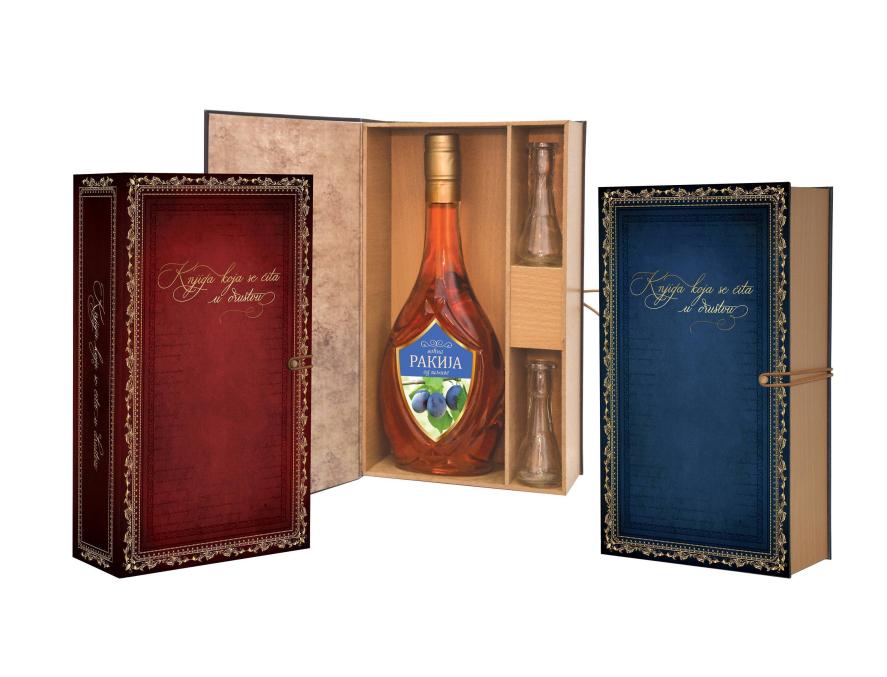 Knjiga koja se čita u društvu - kutija sa pićem