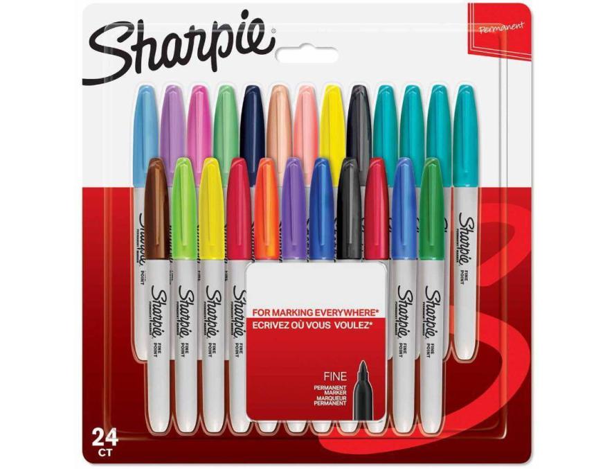 Sharpie markeri set 24 boje, permanentni